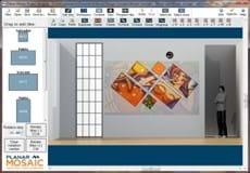 Planar Mosaic Architectural Lcd Video Walls Planar