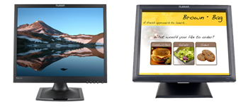 17-Inch Desktop Monitors and Touch Screen Monitors