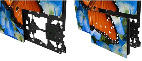 planar easyalign mounting system led video wall mounting system - Video Wall Design