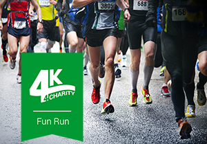 4K 4Charity Fun Run logo