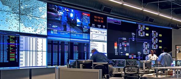 Control Room Video Walls Displays Planar