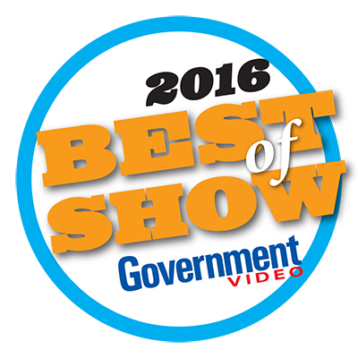 NAB 2016 Best of Show -  Government Video
