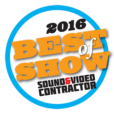 NAB 2016 Best of Show - Sound and Video Contractor