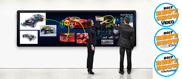 LED MultiTouch with awards