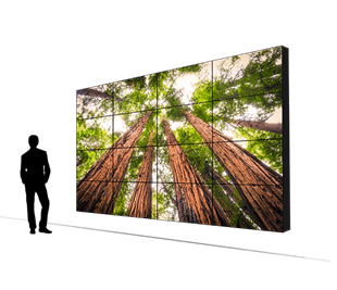 LCD Video Walls and Wall Designs | Planar