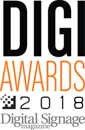 DIGI Awards 2018 - Digital Signage