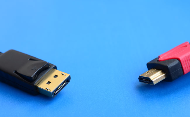 hdmi vs displayport displayport 1 4 vs hdmi 2 1 planar