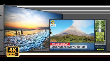 Simplicity 4K LCD Displays | Planar