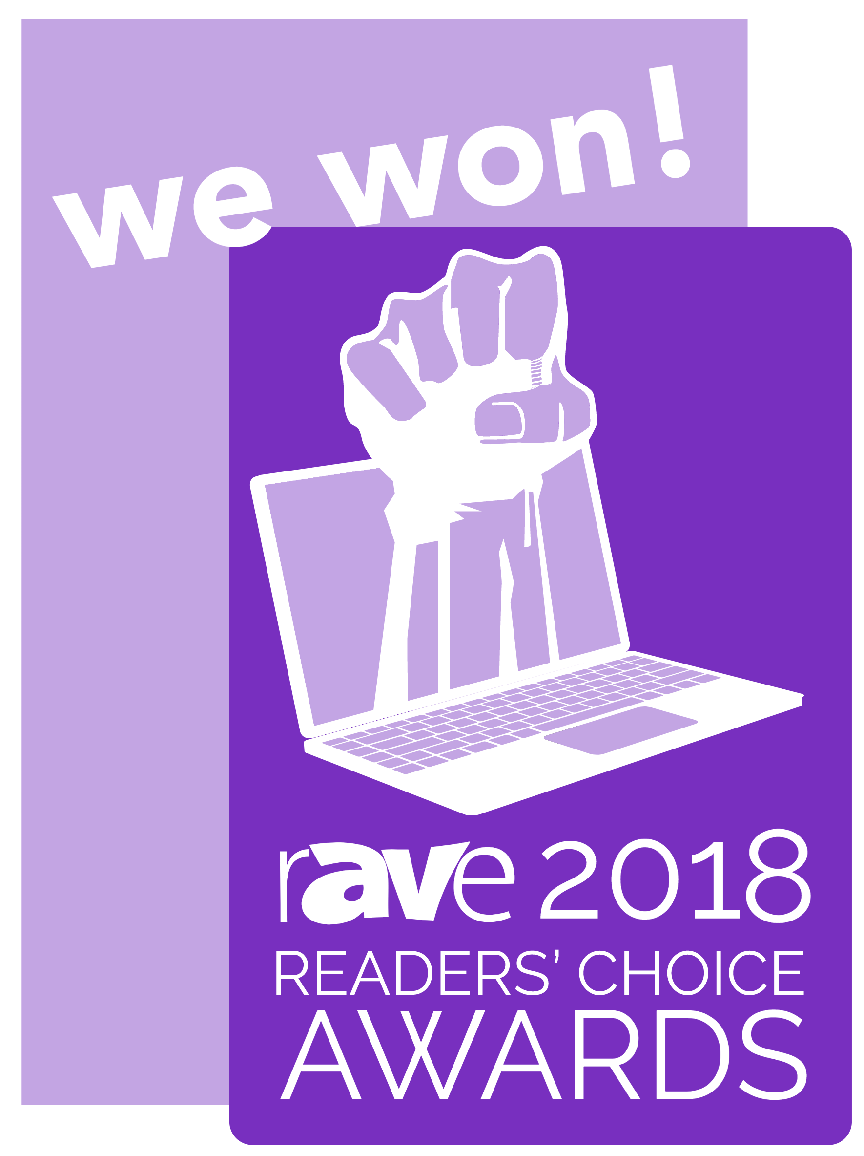 rAVe 2018 Readers' Choice Award