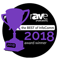 rAVe 2018 Readers' Choice Award Finalist