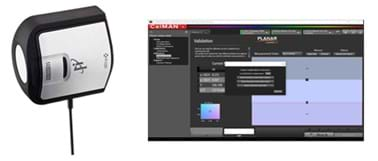 Clarity® Matrix® ColorBalance™ calibration tool