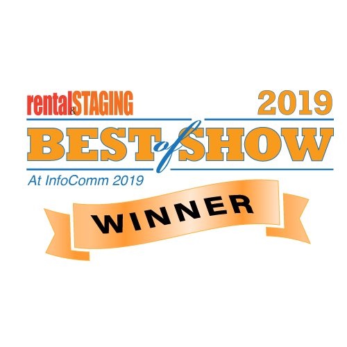 2019 InfoComm Best of Show Award, Rental & Staging Systems Leyard CarbonLight LED Displays