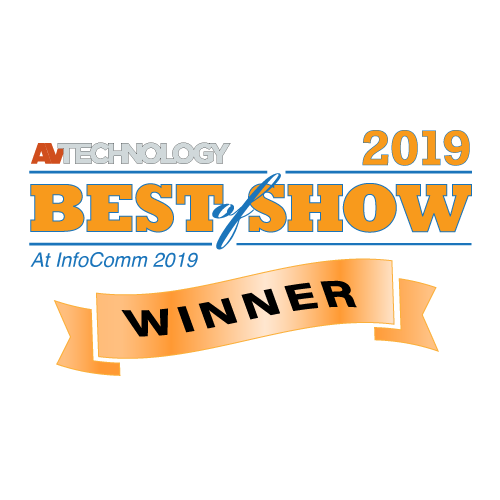 AV Technology InfoComm Best of Show Award