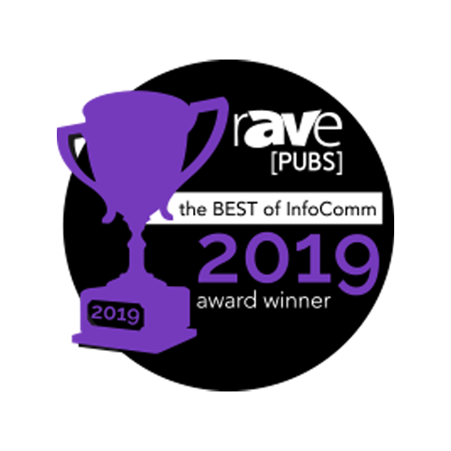 rAVe Best of InfoComm Award
