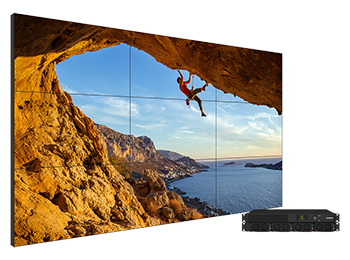 The Clarity® Matrix® G3 LCD Video Wall System