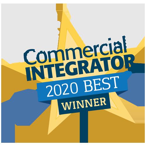 Commercial Integrator 2020 Best Winner-