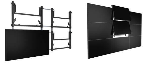 Lcd Video Wall Mounting System Planar